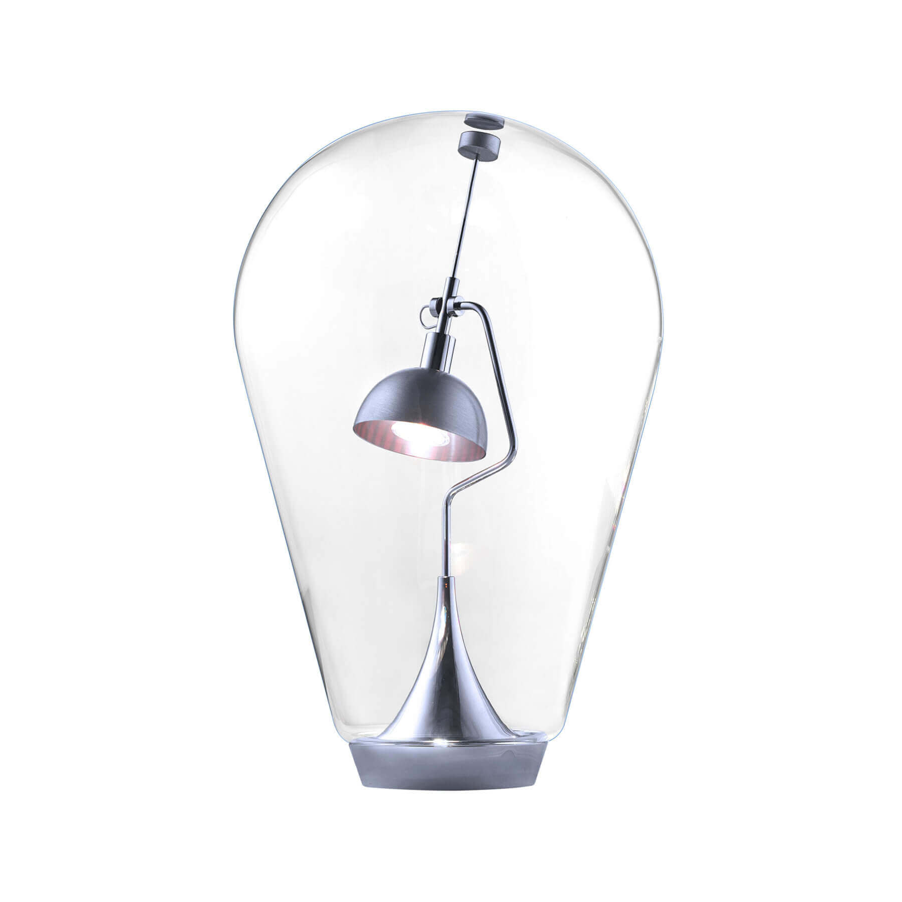 Studio italia design lampada da tavolo blow led www for Saldi lampade design
